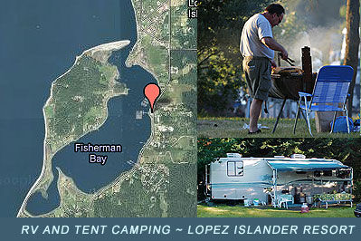 Lopez Islander Resort RV and Tent Camping