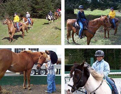activities horseback riding thumbs