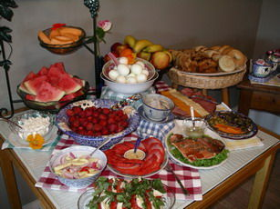 European style breakfast, photo: Edenwild Bed and Breakfast