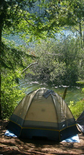 Language In 45 And 47 Stella Street: Camping On Orcas Island