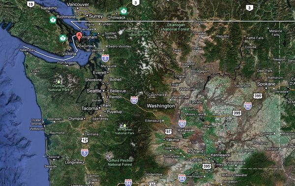 Solution Where are the San Juan Islands