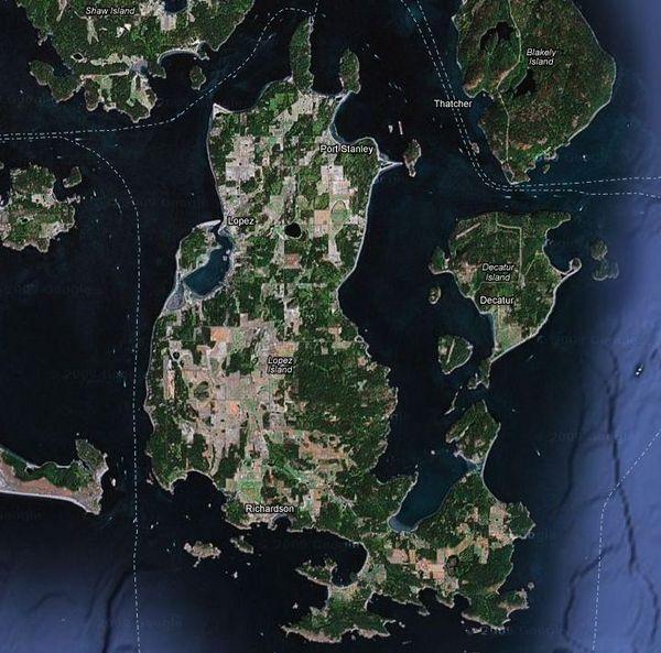 Lopez Islander Marina Map