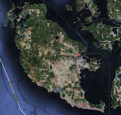 San Juan Island Map