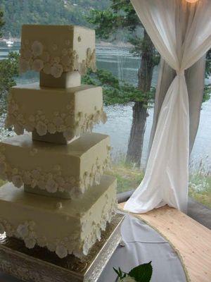 Wedding Cake by Felicitations, San Juan Island